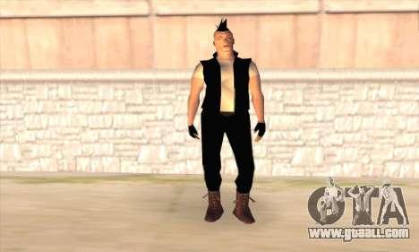 Till Lindemann for GTA San Andreas