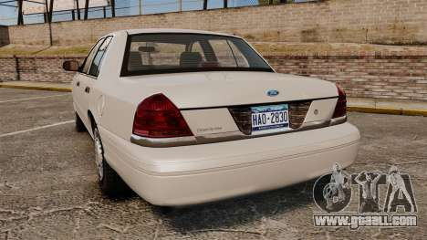 Ford Crown Victoria 1998 v1.1 for GTA 4 back left view