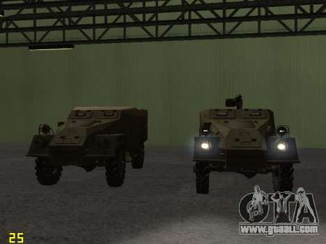 BTR-40 for GTA San Andreas engine