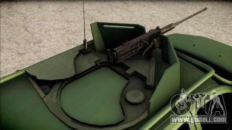 Dacia Duster Army Skin 1 for GTA San Andreas back view