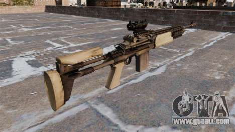 Automatic rifle Mk 14 Mod 0 EBR for GTA 4 second screenshot