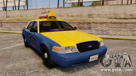 Ford Crown Victoria 1999 GTA V Taxi for GTA 4