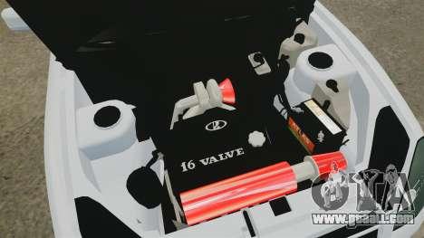 Vaz-2170 Lada Priora Turbo for GTA 4 inner view