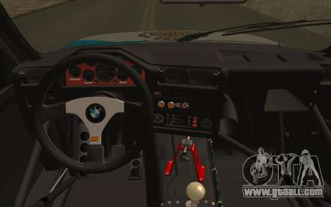 BMW M3 E30 Racing Version for GTA San Andreas right view