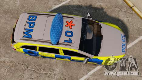 Audi Q7 Metropolitan Police [ELS] for GTA 4 right view