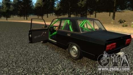 VAZ 2105 for GTA 4 back left view