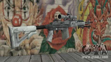 M14 EBR Arctic for GTA San Andreas second screenshot