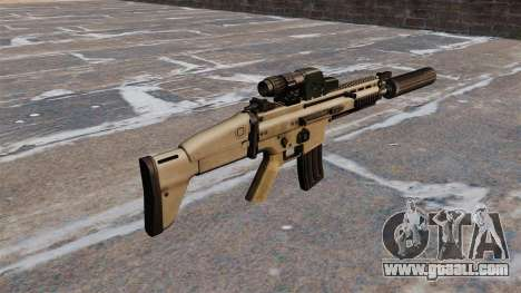FN SCAR assault rifle for GTA 4 second screenshot
