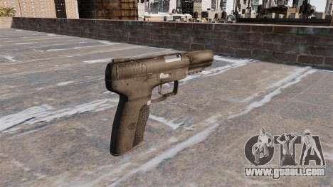 Self-loading pistol FN Five-seveN for GTA 4 second screenshot