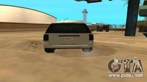 Baller GTA 5 for GTA San Andreas right view