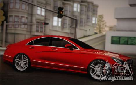 Mercedes-Benz CLS 63 AMG 2012 Fixed for GTA San Andreas inner view