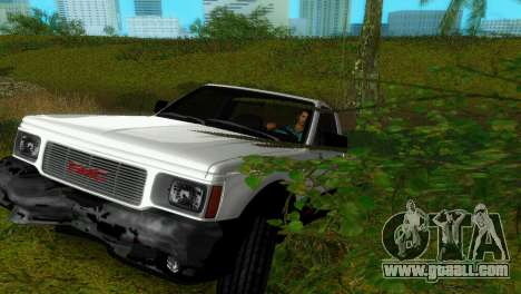 GMC Cyclone 1992 for GTA Vice City side view