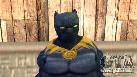 Black Panther for GTA San Andreas third screenshot