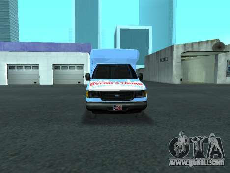 Ford Shuttle Bus for GTA San Andreas side view