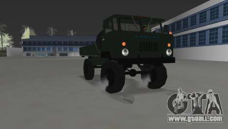 GAZ 66 for GTA Vice City right view