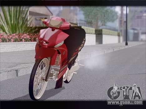 Yamaha Vega ZR for GTA San Andreas right view
