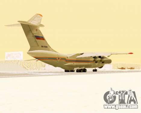 Il-76td EMERCOM of Russia for GTA San Andreas right view