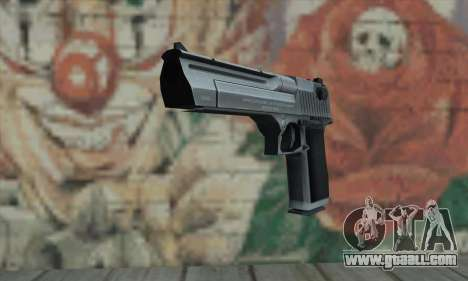 Desert Eagle Silver for GTA San Andreas