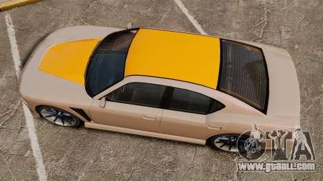 GTA V Bravado Buffalo Supercharged for GTA 4 right view