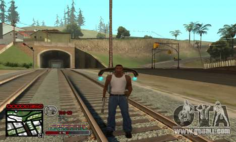 C-HUD Getto Jonka for GTA San Andreas