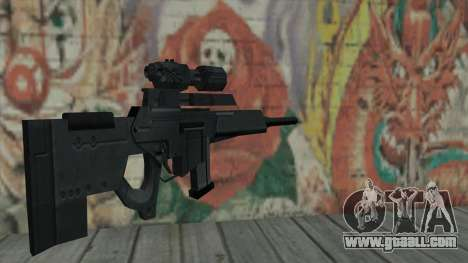 Sniper rifle from Resident Evil 4 for GTA San Andreas second screenshot