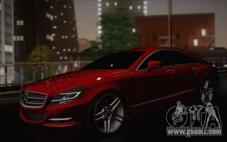 Mercedes-Benz CLS 63 AMG 2012 Fixed for GTA San Andreas engine