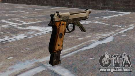 Auto Beretta M93R for GTA 4 second screenshot