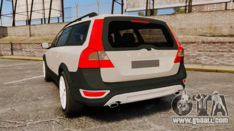 Volvo XC70 Stock for GTA 4 back left view