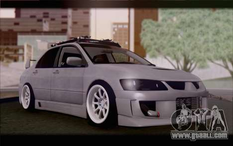 Mitsubishi Lancer Evolution Stance for GTA San Andreas