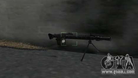Machine gun MG-3 for GTA Vice City second screenshot