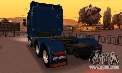 Scania Topline R730 V8 for GTA San Andreas left view