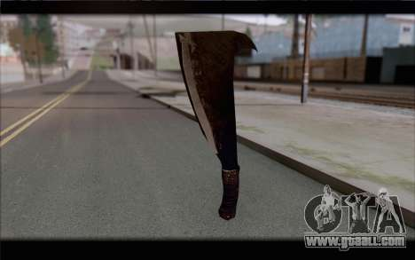 Machete for GTA San Andreas second screenshot