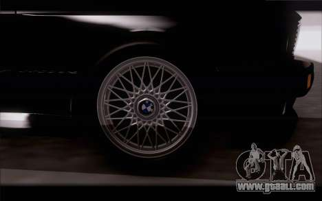 BMW M3 E30 Stock Version for GTA San Andreas right view
