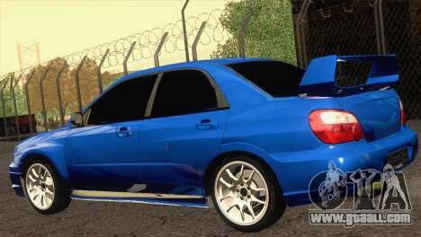 Subaru WRX STI 2004 for GTA San Andreas left view
