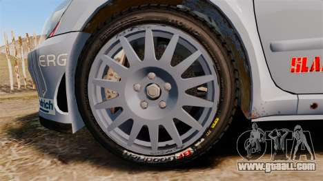 Peugeot 307 WRC for GTA 4 back view