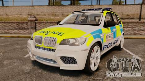 BMW X5 City Of London Police [ELS] for GTA 4