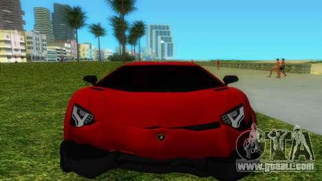 Lamborghini Aventador LP720-4 50th Anniversario for GTA Vice City engine