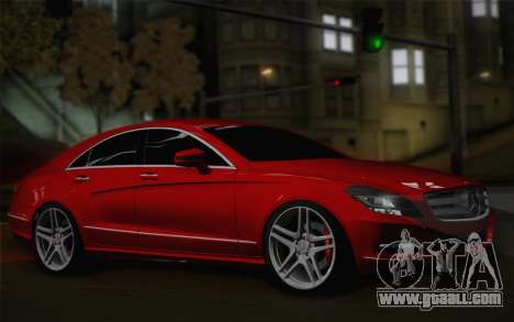 Mercedes-Benz CLS 63 AMG 2012 Fixed for GTA San Andreas left view