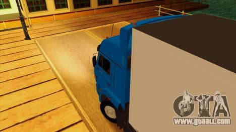 KAMAZ 5410 for GTA San Andreas inner view