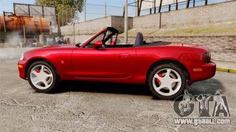Mazda (Miata) MX-5 for GTA 4 left view