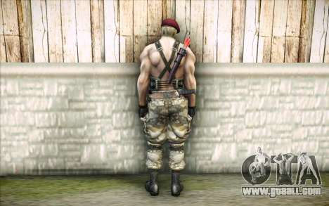 Jack Krauser Mercenary for GTA San Andreas second screenshot