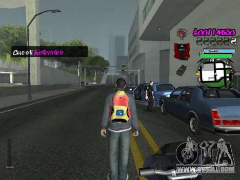 HUD for GTA San Andreas twelth screenshot
