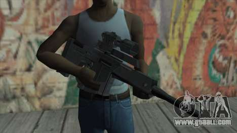Sniper rifle from Resident Evil 4 for GTA San Andreas third screenshot