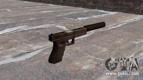 Auto Glock 18 c for GTA 4 second screenshot