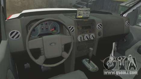 Ford F-350 FDNY Ambulance [ELS] for GTA 4 back view