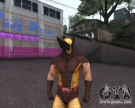 X-men Origins: Wolverine [Skins Pack] for GTA San Andreas