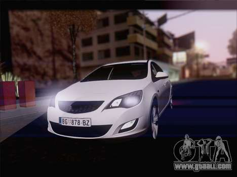 Opel Astra J 2011 for GTA San Andreas