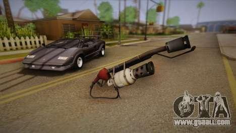 Flamethrower from Team Fortress for GTA San Andreas