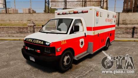 Brute Ambulance FDLC [ELS] for GTA 4