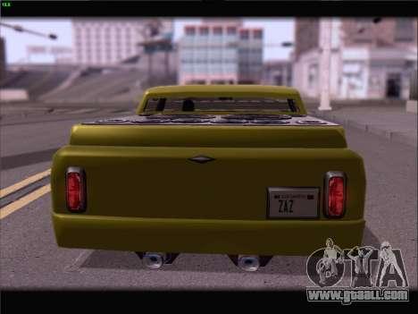 New Slamvan for GTA San Andreas side view